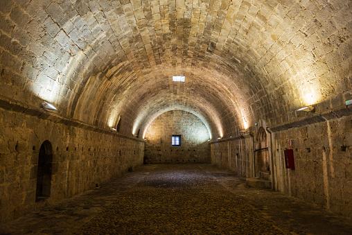 Granary inside the castle of Peniscola