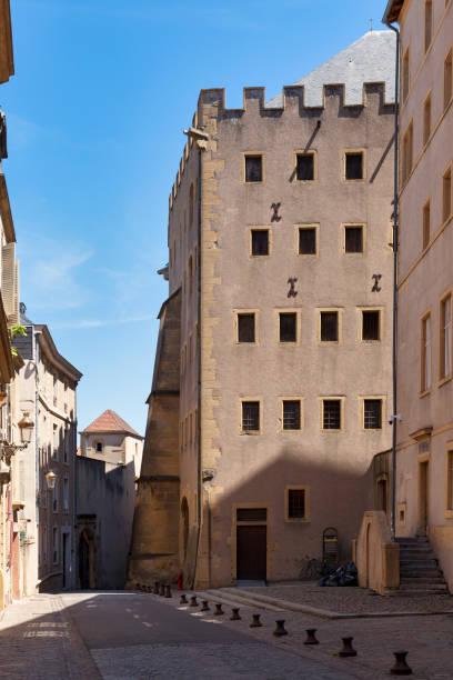 Granary of Chèvremont in Metz stock photo