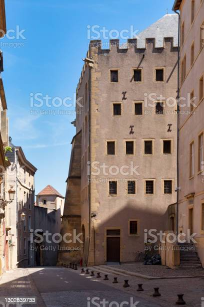 Granary Of Chèvremont In Metz Stock Photo - Download Image Now