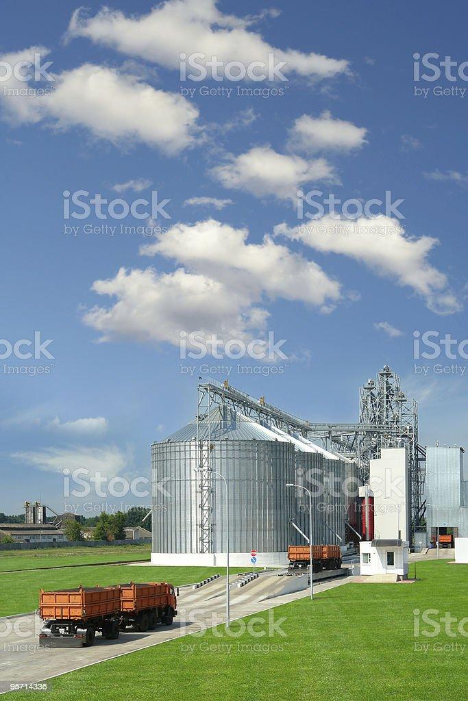 granary stock photo