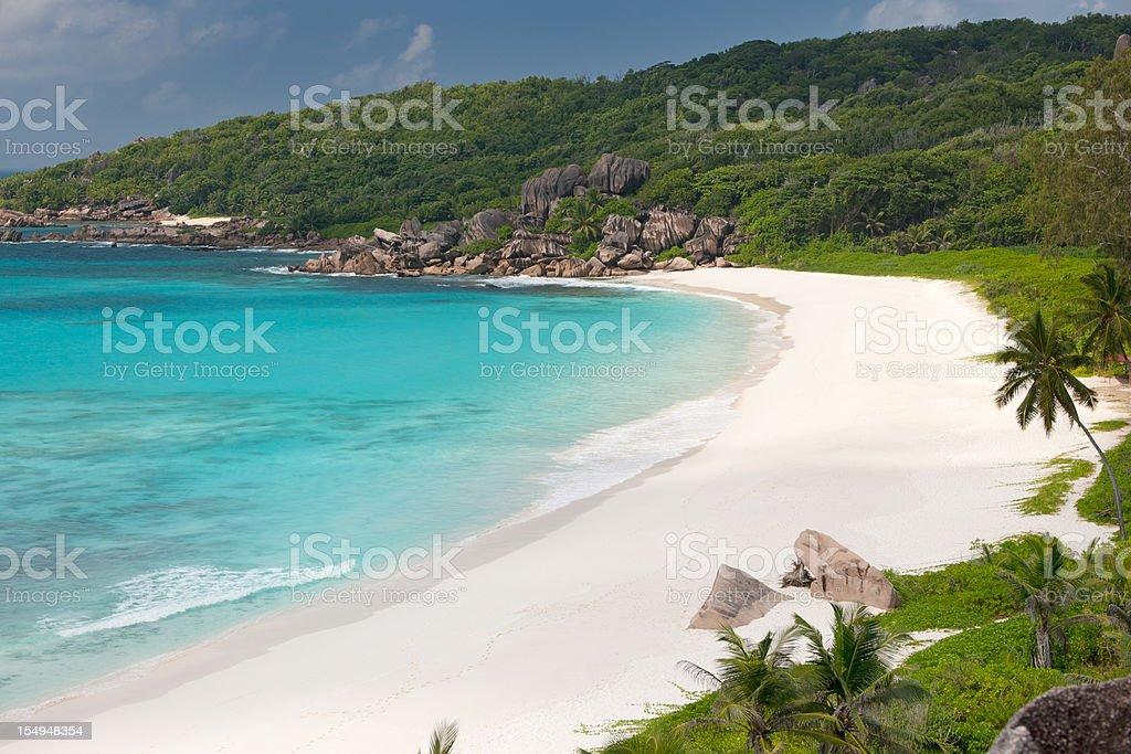 Grand Anse, Seychelles stock photo