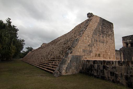 Grand Ball Court (Juego de Pelota) at Mexico's Chichen Itza