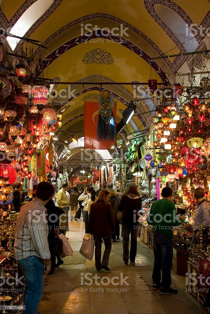 Grand Bazaar, Istanbul stock photo