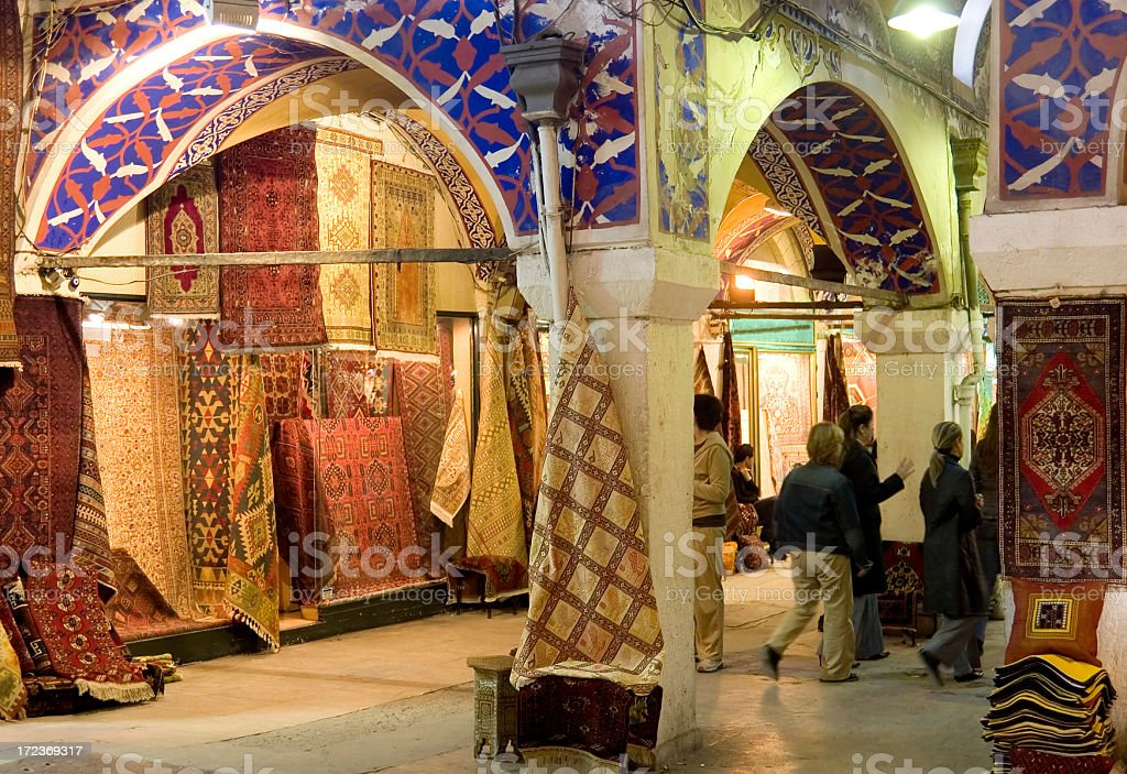 Grand Bazaar, Istanbul royalty-free stock photo