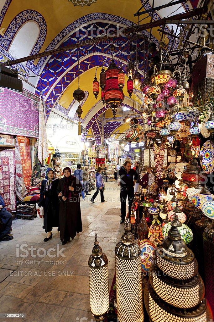 Grand Bazaar Istanbul royalty-free stock photo