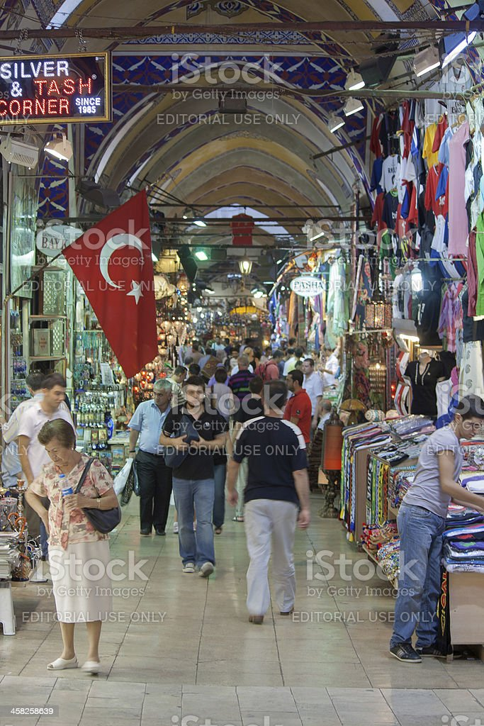 grand bazaar -  istanbul royalty-free stock photo