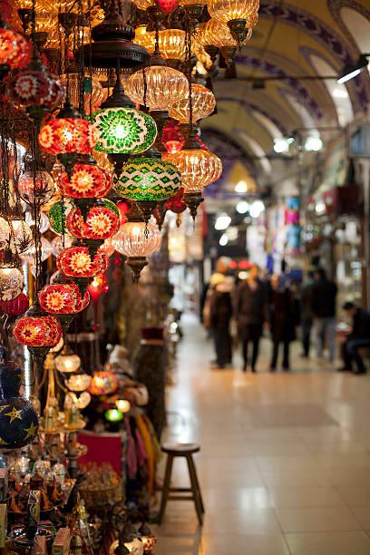 Grand Bazaar ( istanbul ) stock photo
