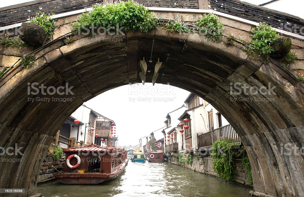 Grand Canal, China stock photo