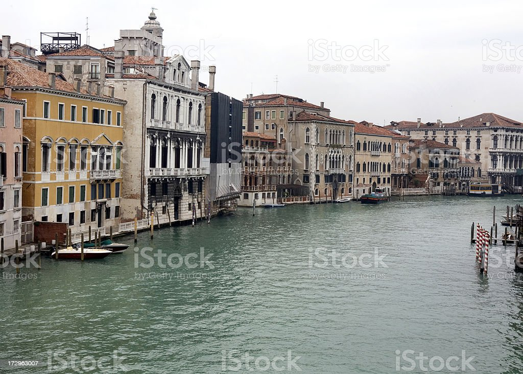 Grand Canal in Venice Italy royalty-free stock photo