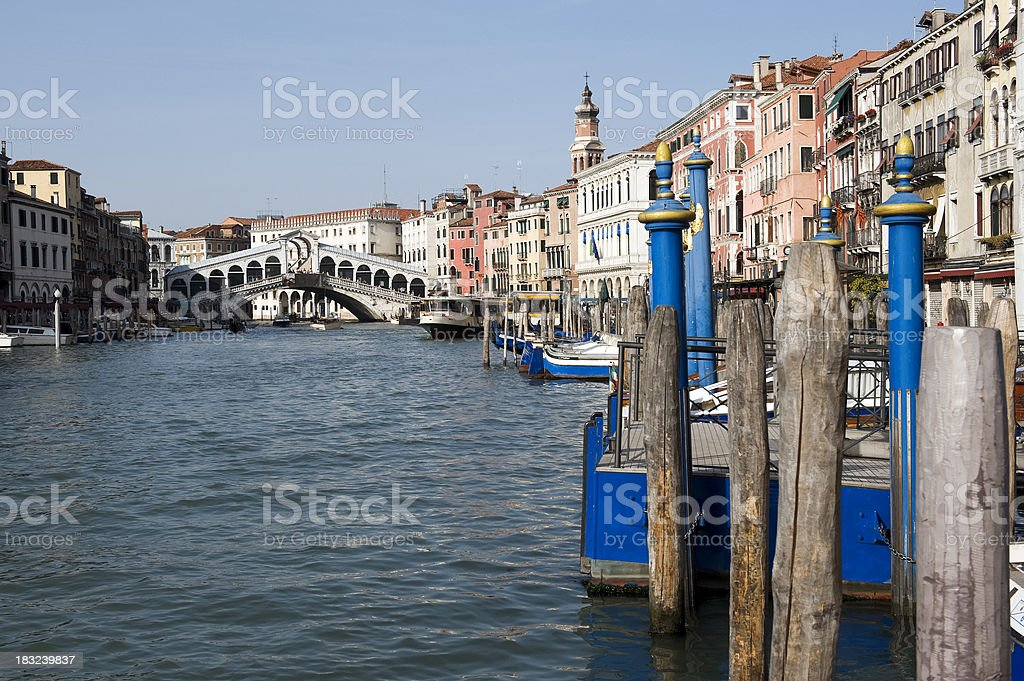 Grand Canal in Venice, Italy royalty-free stock photo