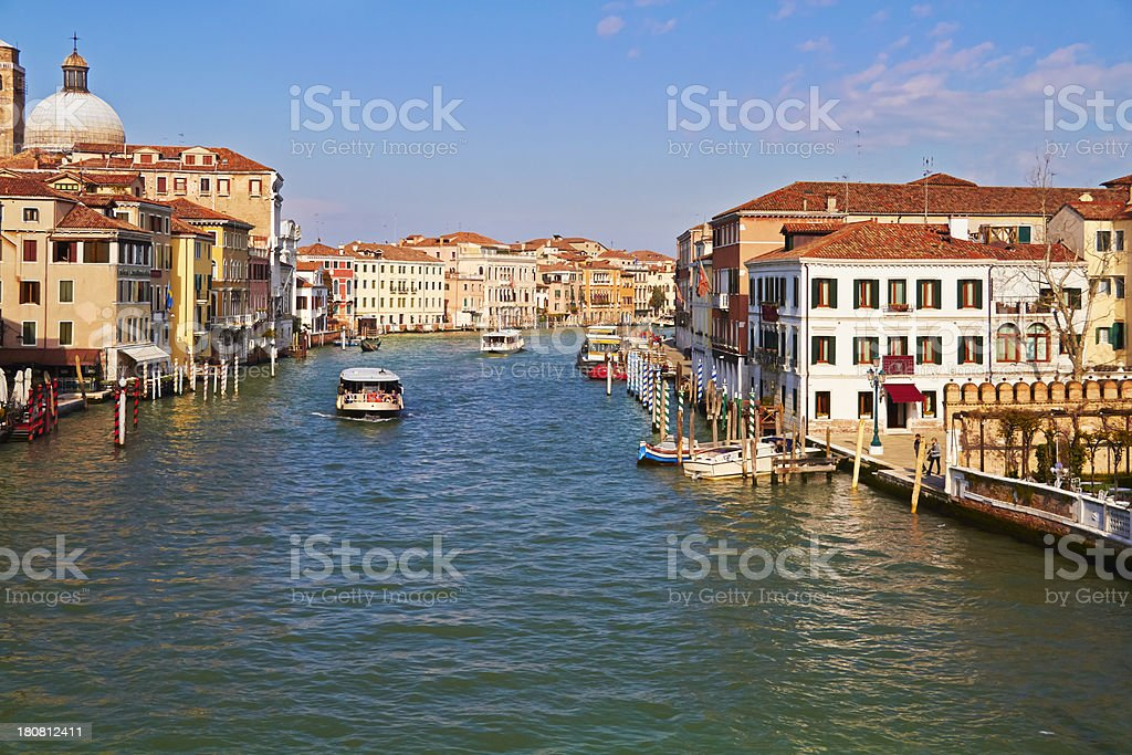 Grand Canal in Venice. royalty-free stock photo