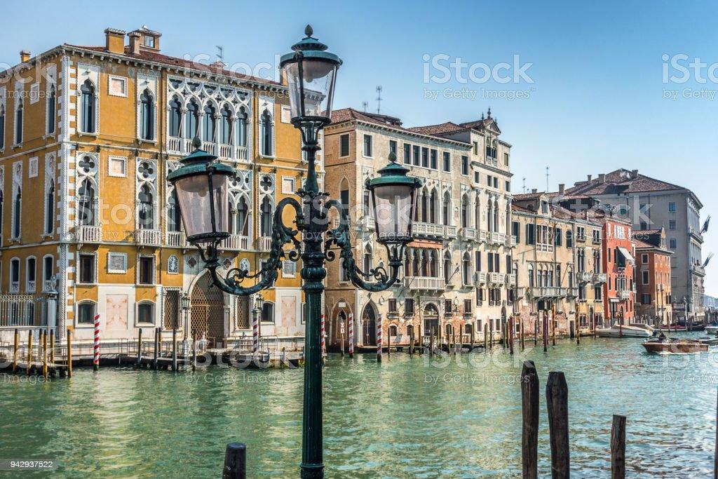 Gran Canal de venecia - foto de stock