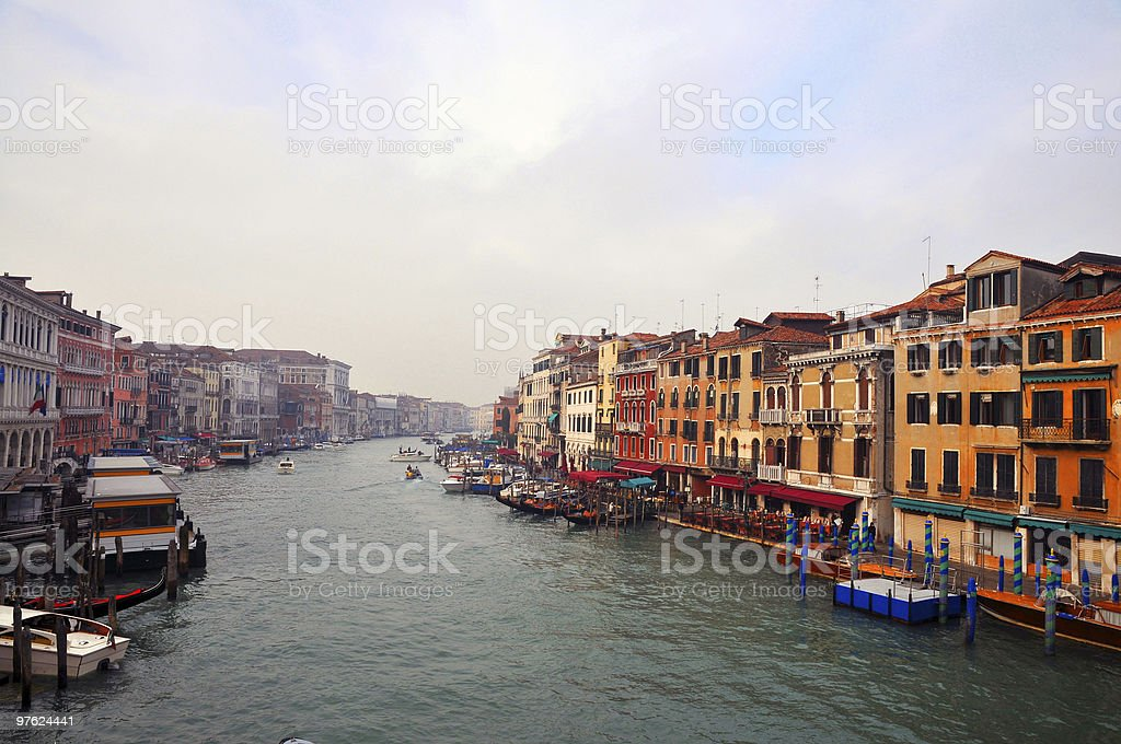 Grand Canal de Venise photo libre de droits