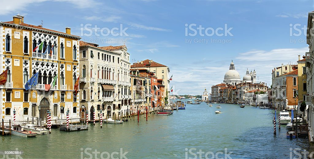 Grand Canal Pano royalty-free stock photo