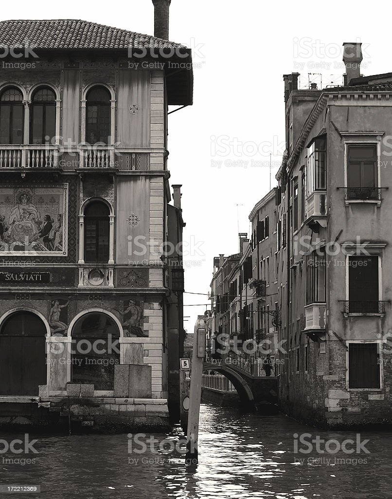 Gran Canale royalty-free stock photo
