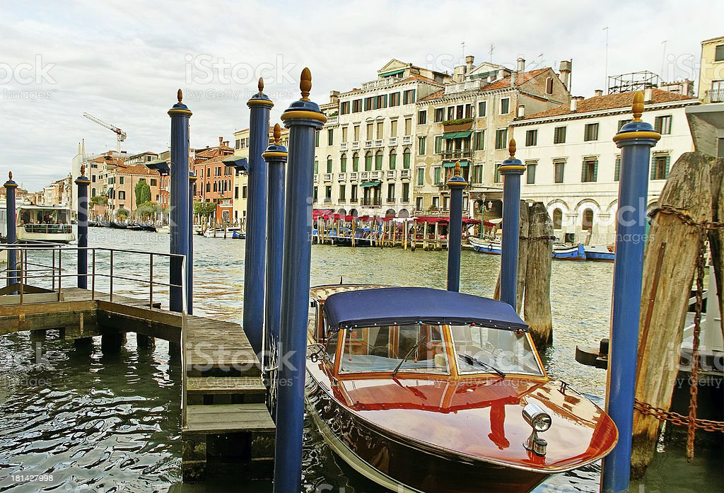 Grand canal. royalty-free stock photo