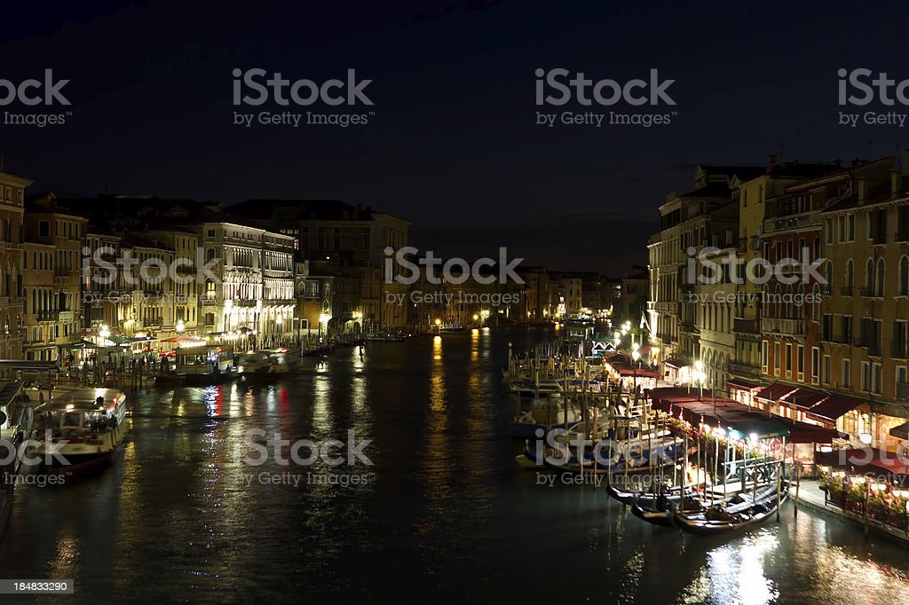 Grand Canal (Venice) royalty-free stock photo