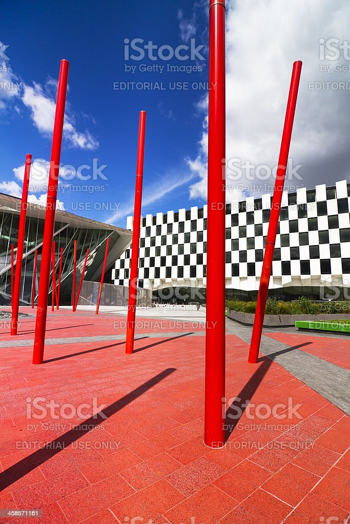 Grand Canal Square royalty-free stock photo