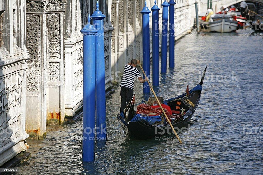 Grand Canal Venezia royalty-free stock photo