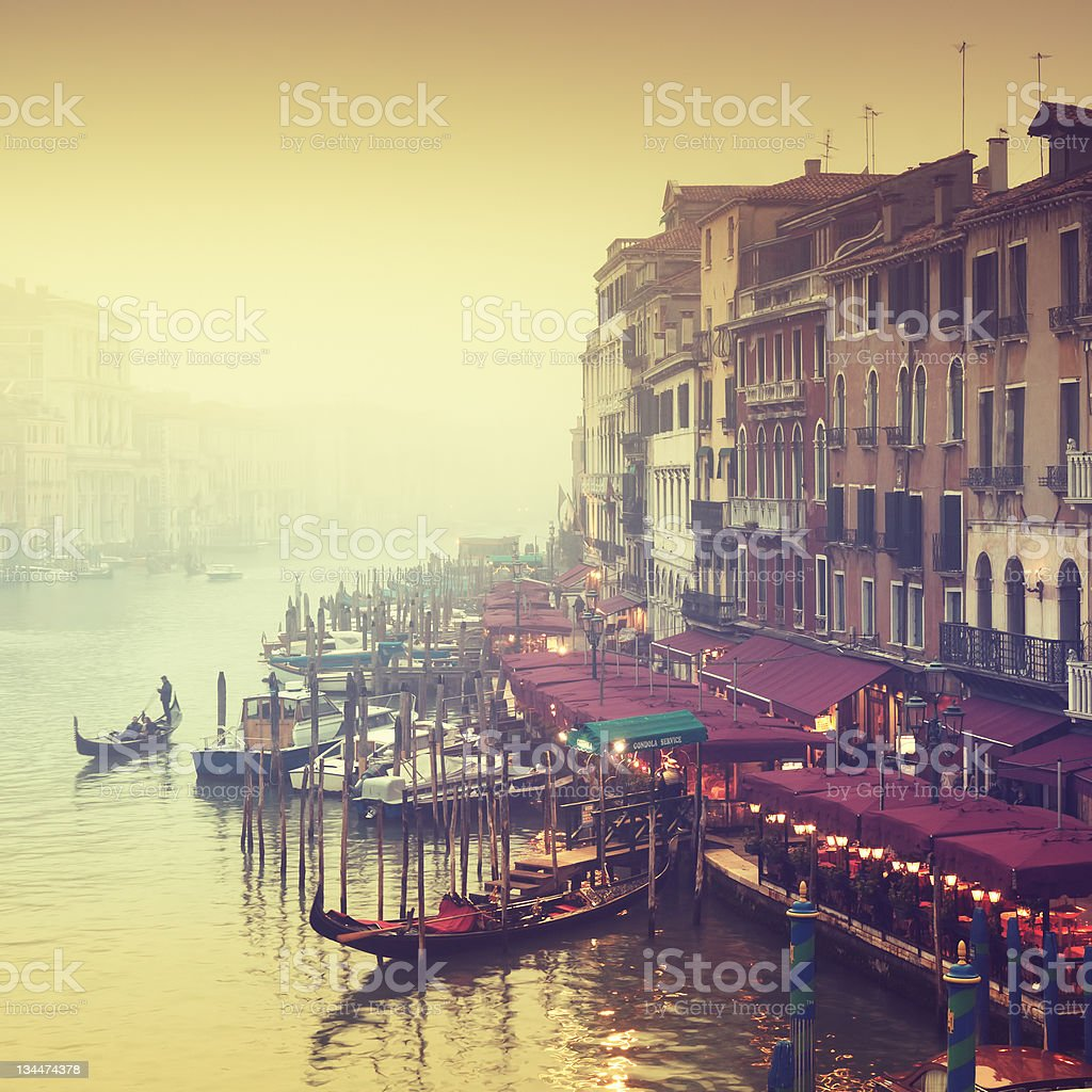 Grand Canal, Venice - Italy royalty-free stock photo
