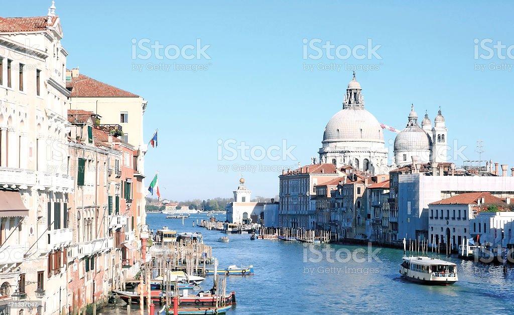 Grand Canal Venice Italy royalty-free stock photo