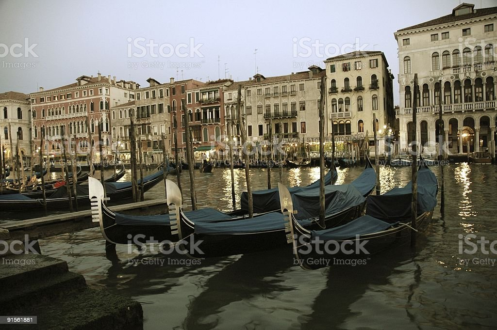 Grand Canal, Venice, Italy. royalty-free stock photo