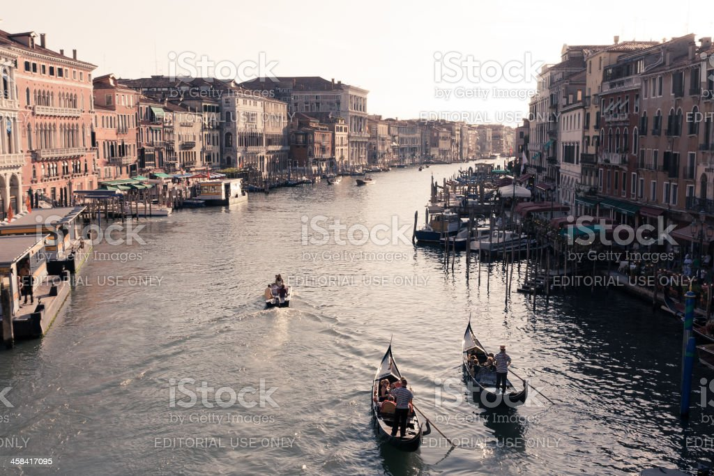 Grand Canal Venice royalty-free stock photo
