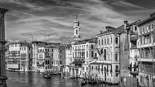 Grand Canal Venice stock photo