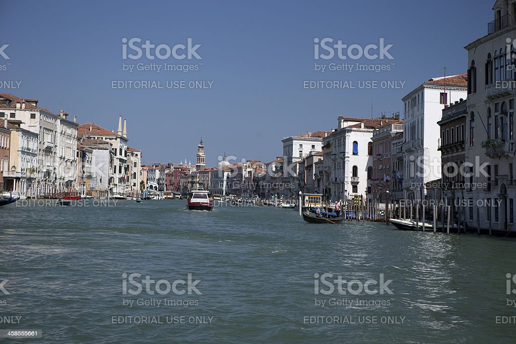Grand Canal wide royalty-free stock photo
