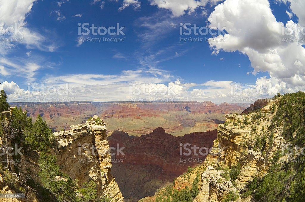 Grand canion view royalty-free stock photo