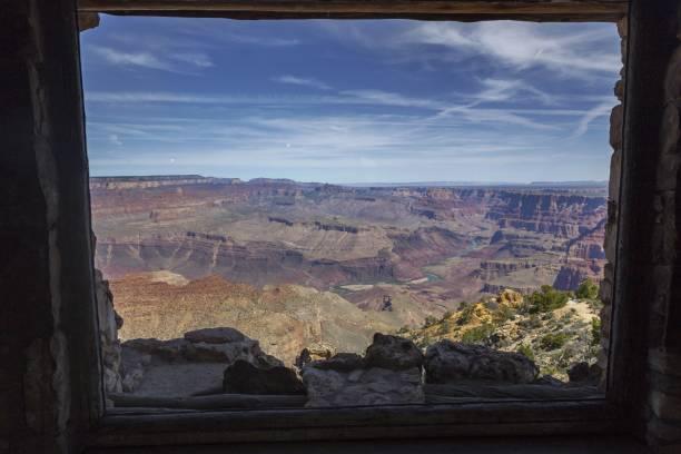 Grand Canyon and Colorado River in Arizona stock photo