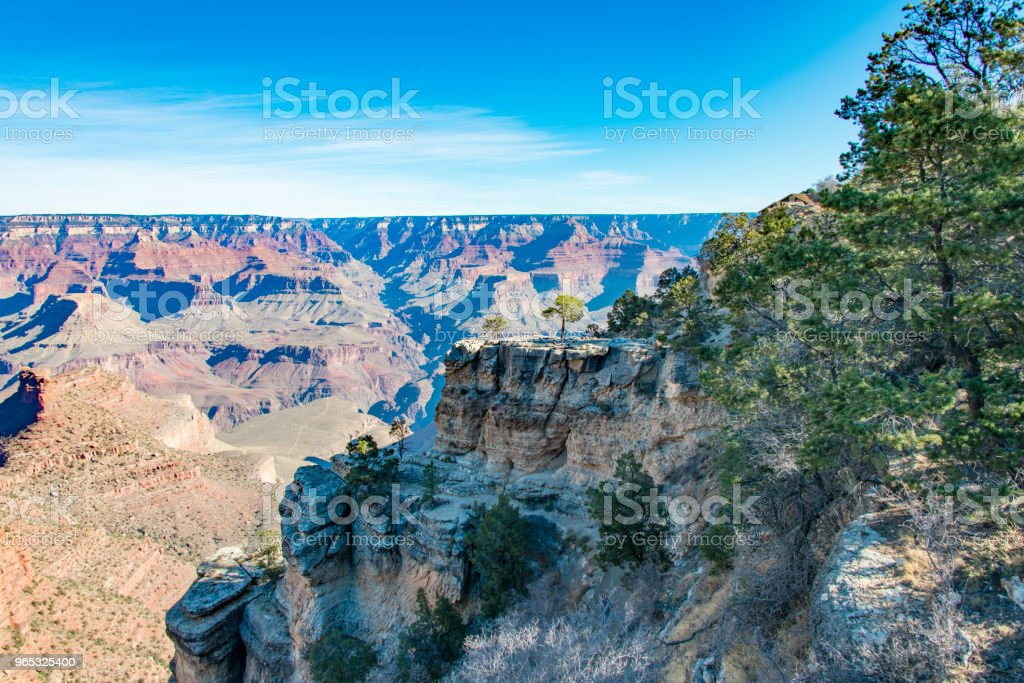 Grand Canyon at morning royalty-free stock photo