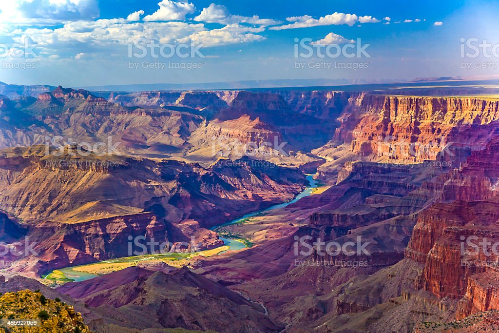 Grand canyon at sunrise royalty-free stock photo