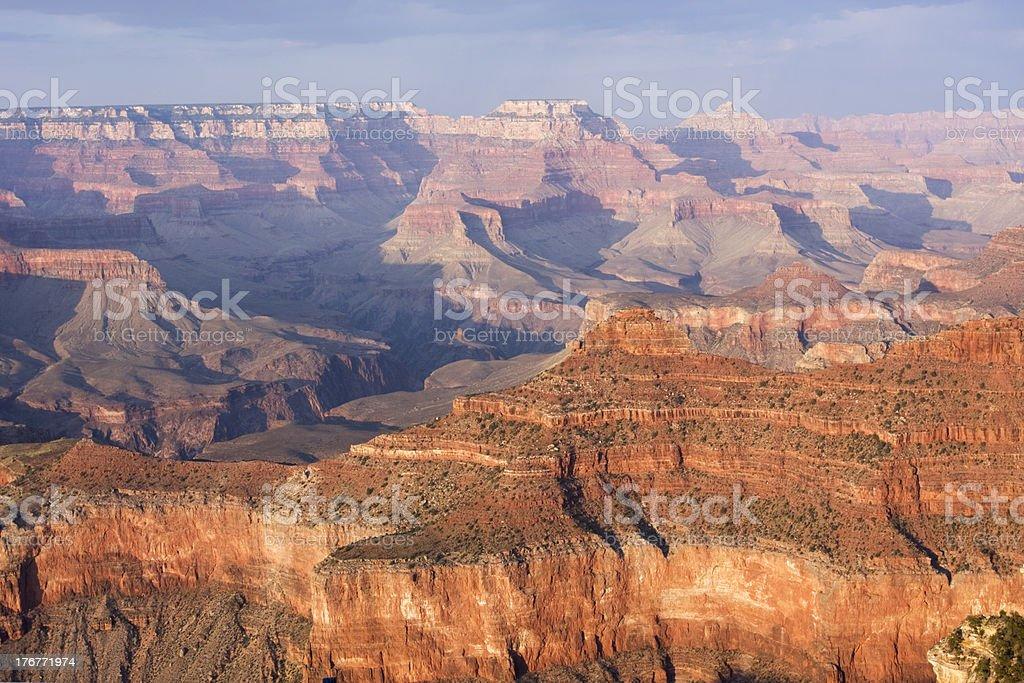 Grand Canyon at sunset royalty-free stock photo