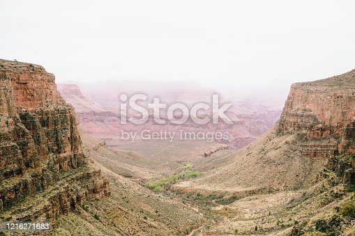 Grand Canyon Bright Angel Trail Lookout