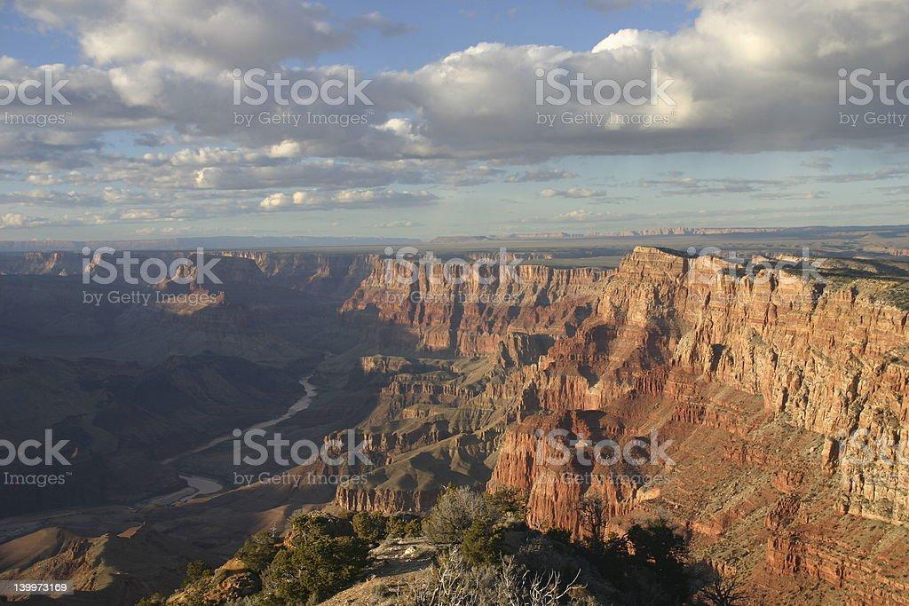 Grand Canyon East Rim stock photo
