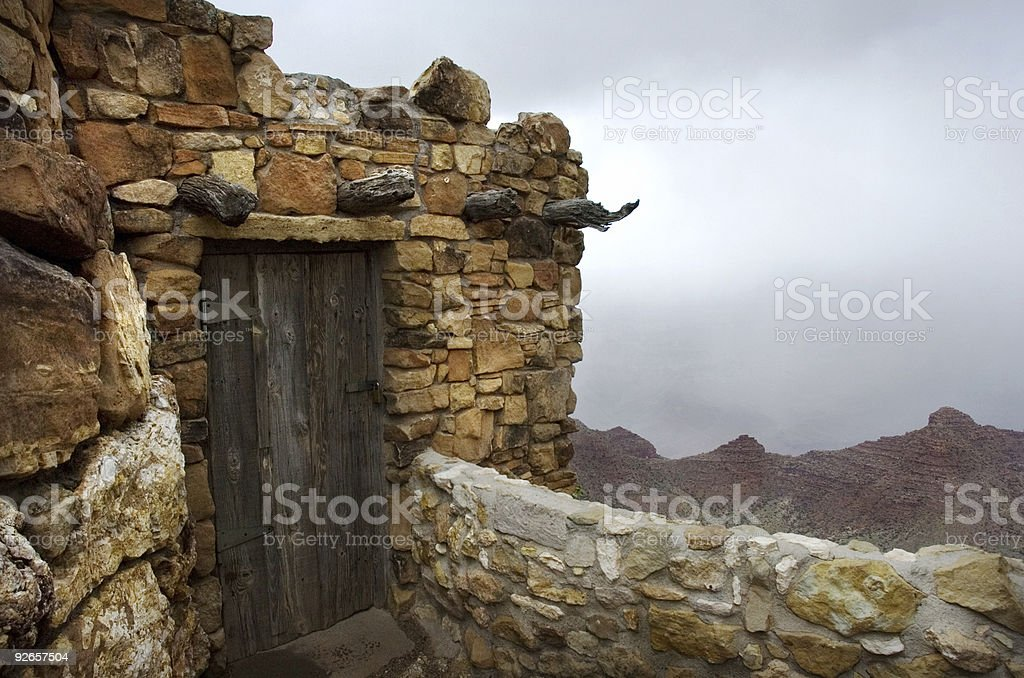 Grand Canyon Fort royalty-free stock photo