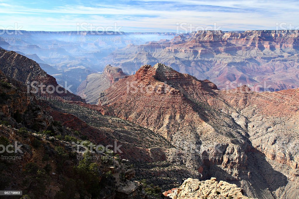 Grand Canyon From Desert View Overlook royalty-free stock photo