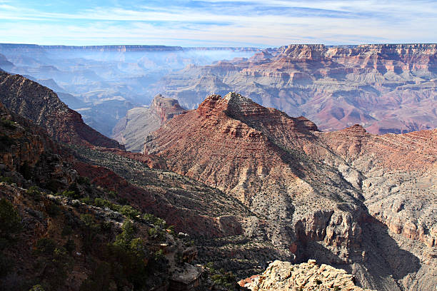 Grand Canyon From Desert View Overlook stock photo
