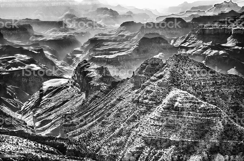Grand Canyon from Desert View Point stock photo