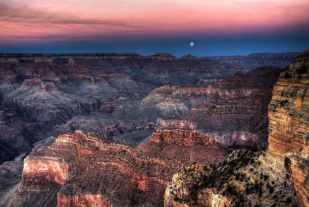 Grand Canyon HDR stock photo