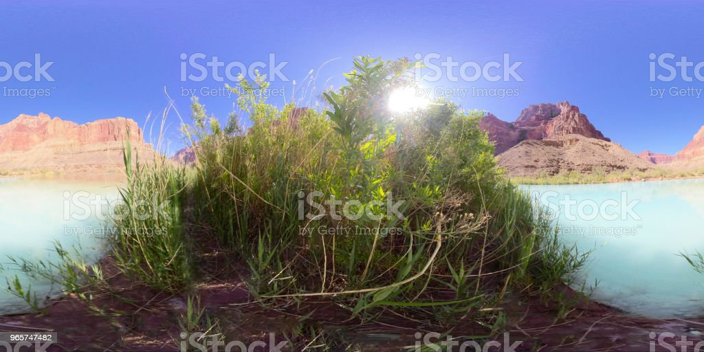 Grand Canyon in 360 - Royalty-free 360-Degree View Stock Photo