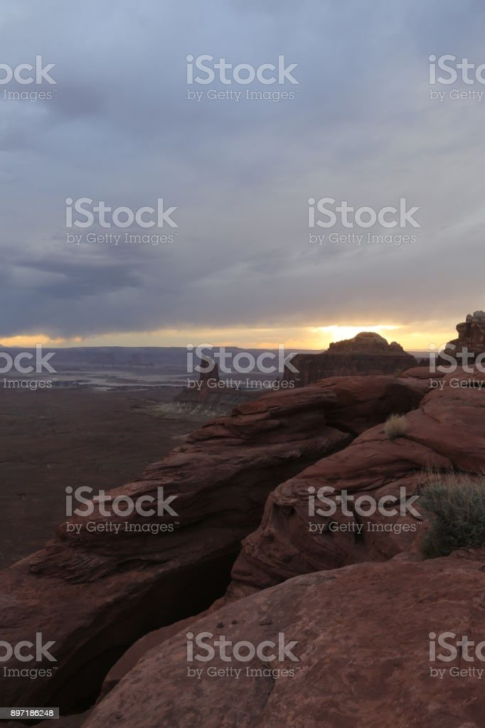 Grand canyon in America stock photo