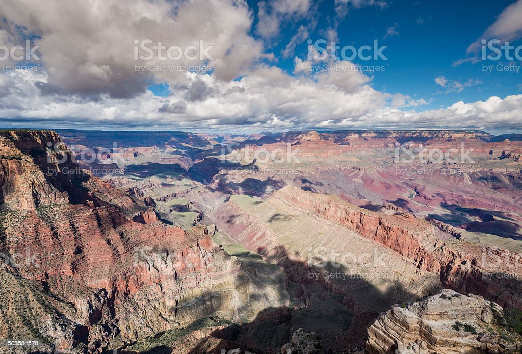 Grand Canyon (South Rim) in Lipan Point stock photo