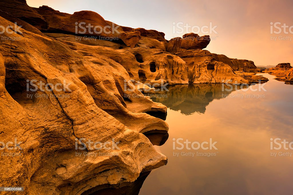 Grand canyon in Thailand. royalty-free stock photo