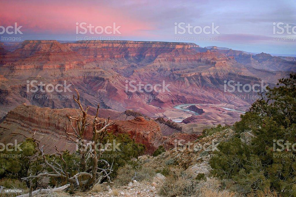Grand Canyon Lipan Point stock photo