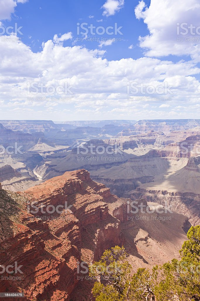 Grand Canyon Majestic View royalty-free stock photo