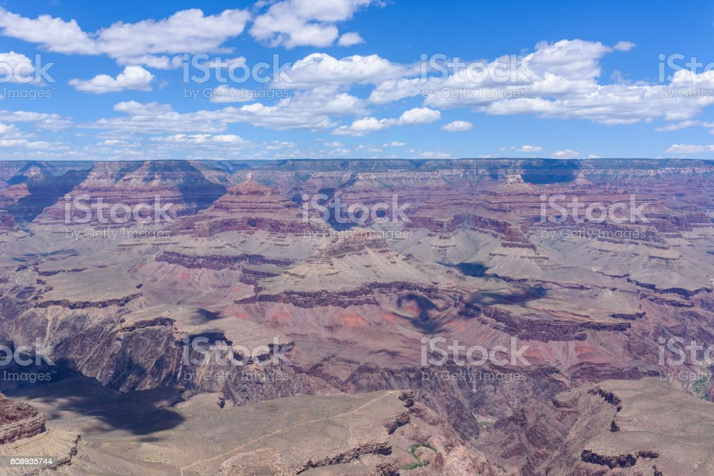Grand Canyon Mather Point View To Grand Canyon National Park Travel Destination In Grand Canyon Village Arizona United States Of America Stock Photo Download Image Now Istock