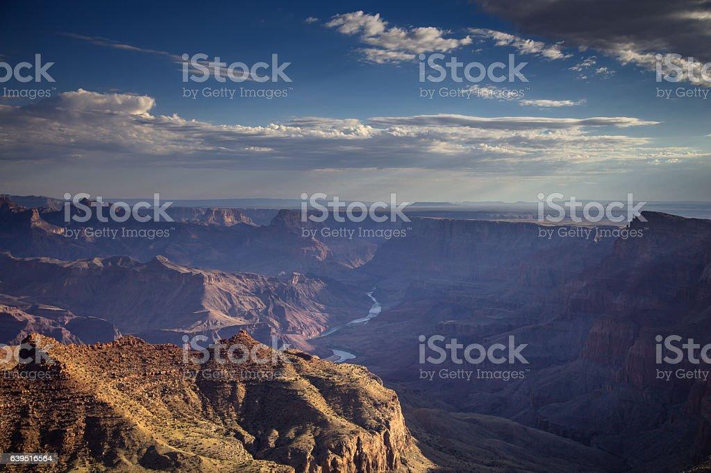 Grand Canyon Morning stock photo