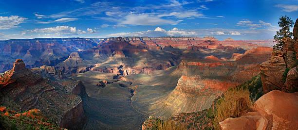 Grand Canyon National Park (South Rim), Arizona USA - Landscape stock photo